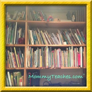 Always great to have a library at home