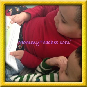 Siblings can listen to one another read