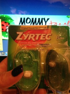 How ZYRTEC® Helps This Mom With AllergyFace™