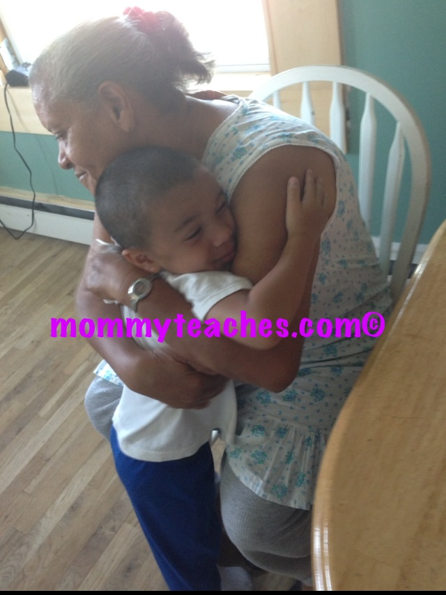 Hugs from Abuela!