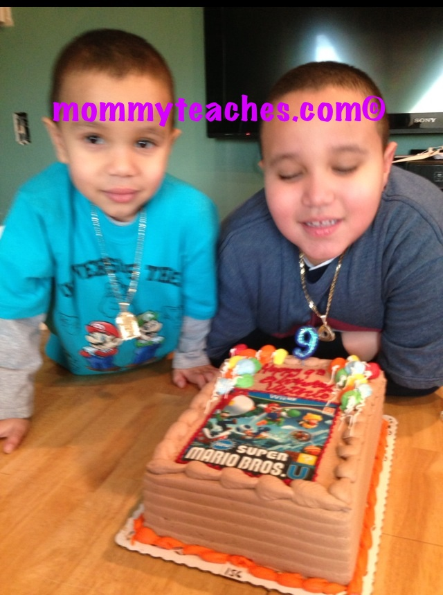 A birthday without both Abuelas!