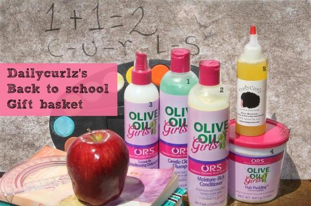Back 2 School Giveaway Basket