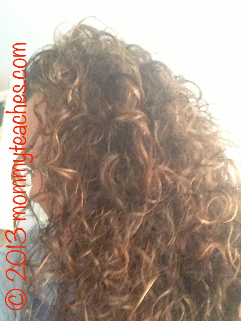 Day 2 WITH oil in hair