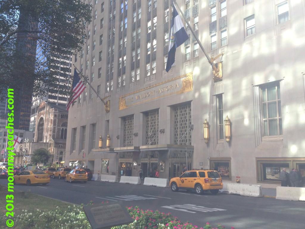The Waldorf Astoria in New York City