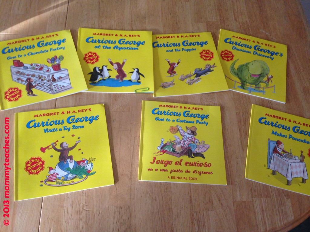 We are HUGE Curious George fans! Can you tell?