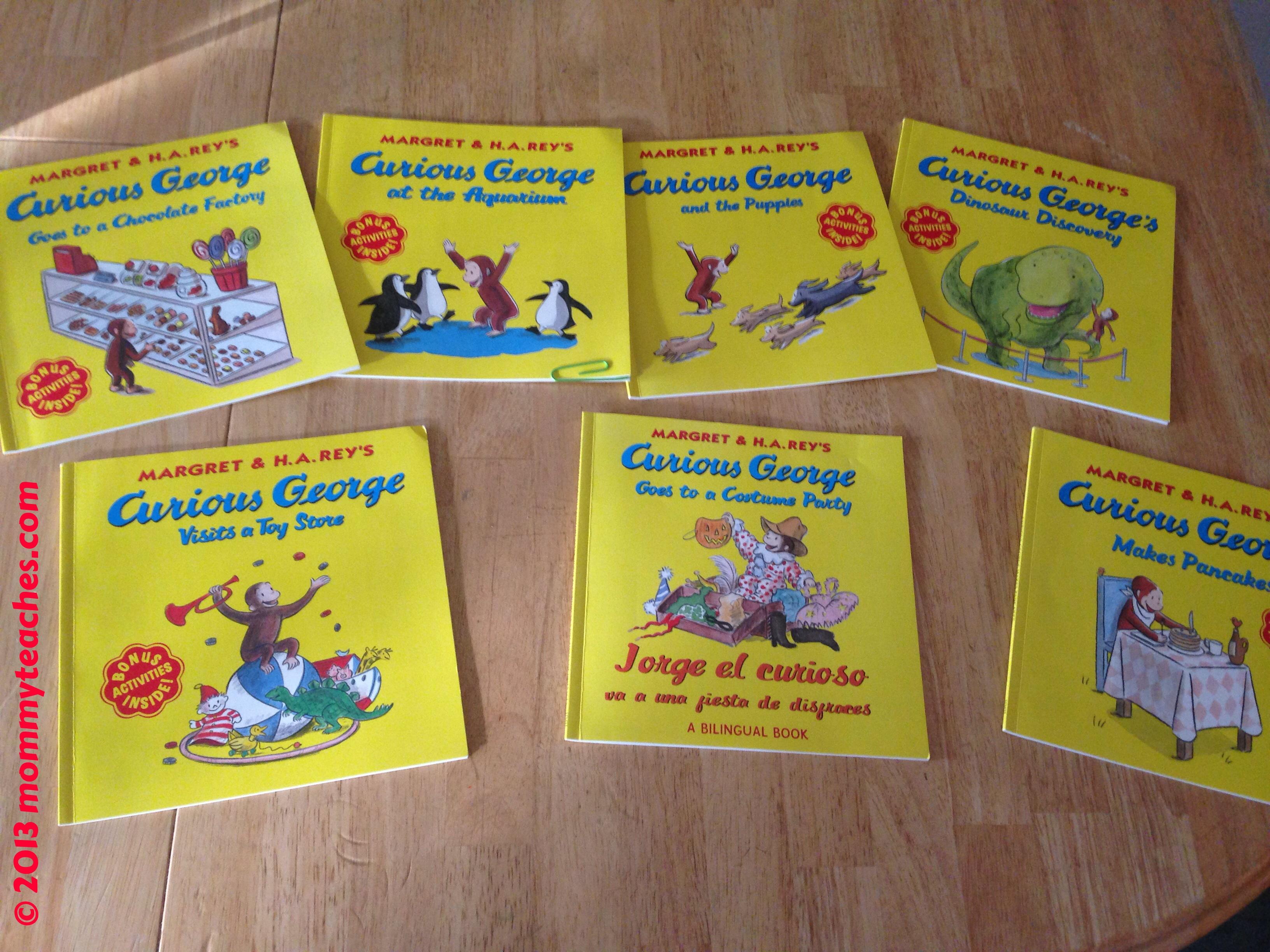 mommyteaches loves curious george a halloween boo fest mommy teaches - Curious George Halloween Games