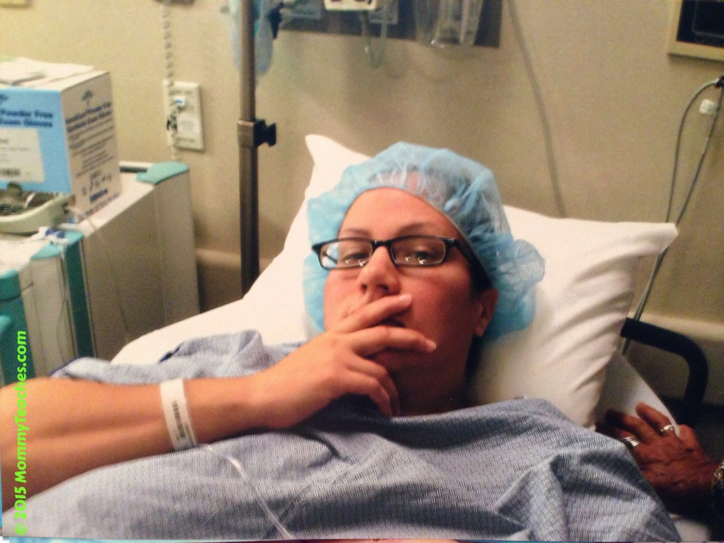 Upset about the c-section