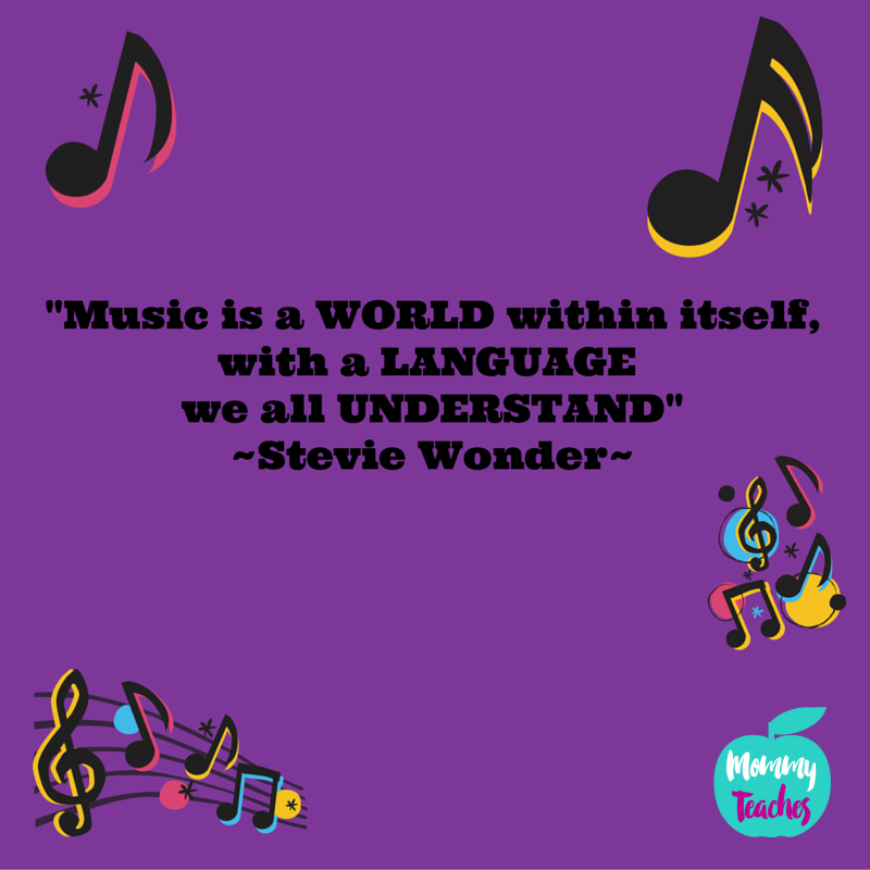 -Music ia a WORLD within itself, with a LANGUAGE we all UNDERSTAND