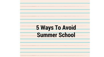 5 Ways to Avoid Summer School